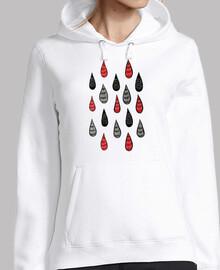 pluie étrange gouttes d39encre motif ro
