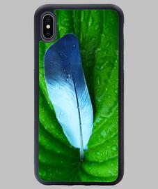 Pluma azul