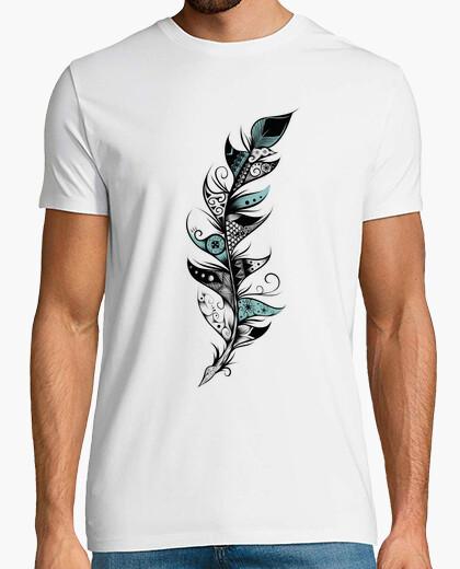 Camiseta pluma poética