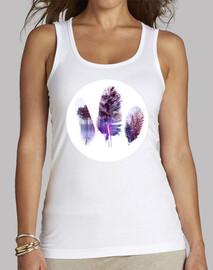 Plumes violettes