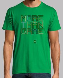 plus de jeu - homme, manches courtes, pré vert, qualité extra
