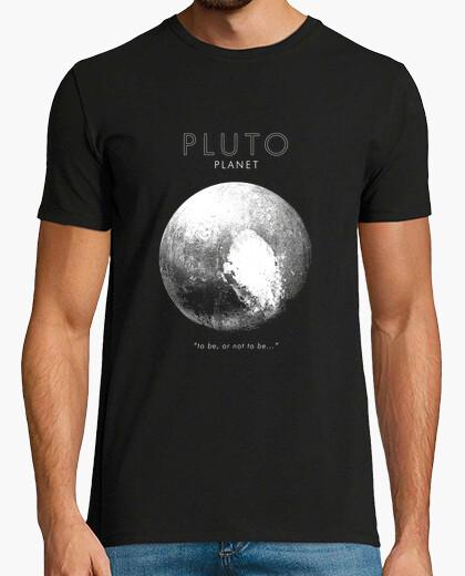 Tee-shirt pluto-être ou non-planète-astronomie