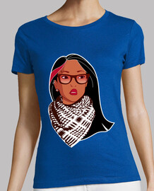Pocahontas rebel - palestinian glasses piercing wicks