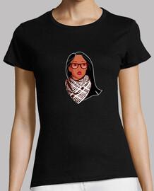 Pocahontas rebel glasses and palestinian