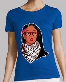 Pocahontas Rebelde - Gafas Palestino Mechas Piercing