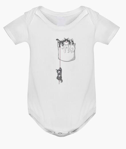 Vêtements enfant poche chaton