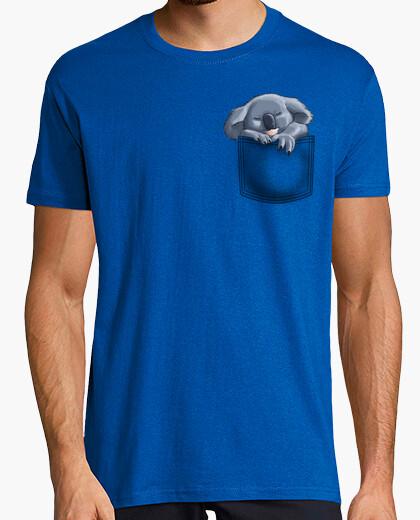 Tee-shirt poche de koala