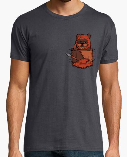 Tee-shirt poche ewok