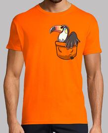 Pocket Anger Toucannon - Mens shirt