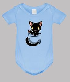 Pocket Cute Black Cat