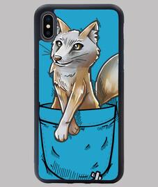 pocket cute corsac fox - funda para iphone