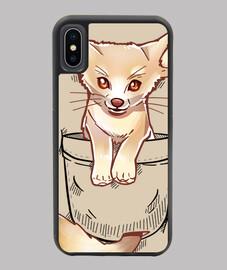 Pocket Cute Fennec Fox - iphone Case