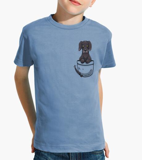 Pocket Cute Great Dane Dog - Kids shirt kids clothes