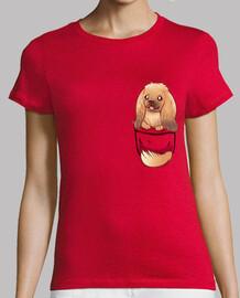 Pocket Cute Pekingese Dog - Womans Shirt
