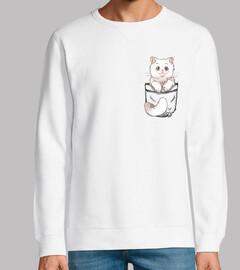 Pocket Cute Persian Cat - Sweatshirt