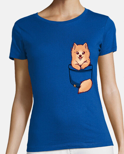 Pocket Cute Pomeranian - Womans shirt