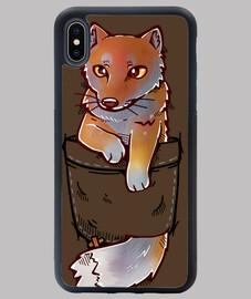 Pocket Cute Tibetan Fox - iPhone Case