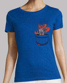 Pocket Incineroar - Womans shirt