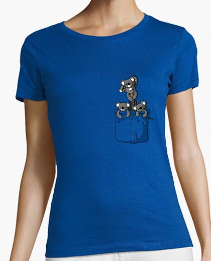 Camiseta Pocket Koala Bears