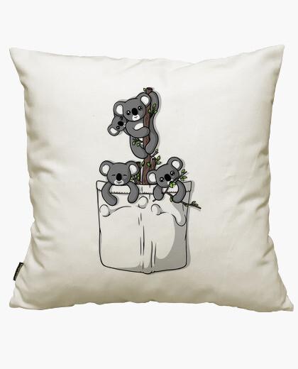 Pocket koala bears cushion cover