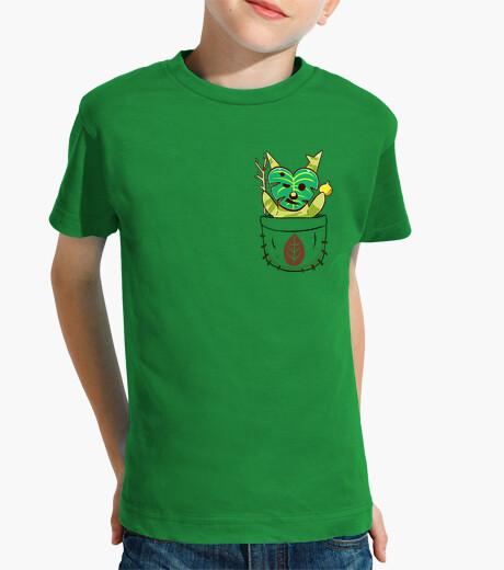 Vêtements enfant pocket korok - chemise pour enfants