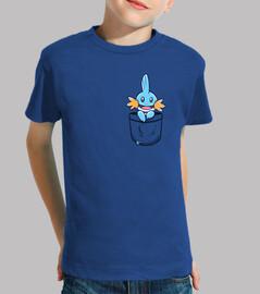 pocket pocket kip - maglietta per bambini