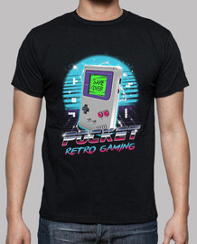 pocket retro gaming shirt mens