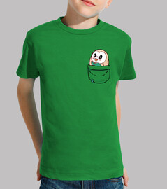 pocket rowlet - kids shirt