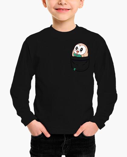 Pocket rowlet - kids shirt children's clothes