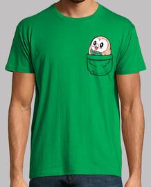 Pocket Rowlet - Mens shirt