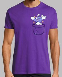 Pocket Shiny Brionne - Mens shirt