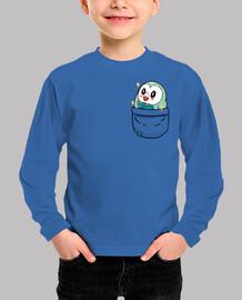 Pocket Shiny Rowlet - Kids shirt