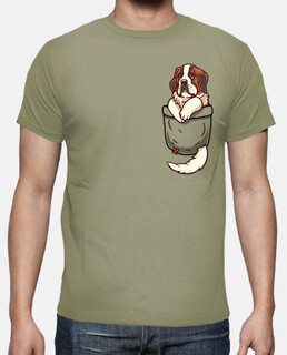 Pocket St Bernard - Mens shirt