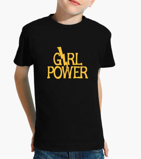 Ropa infantil poder femenino