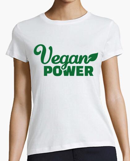 Camiseta poder vegetariana