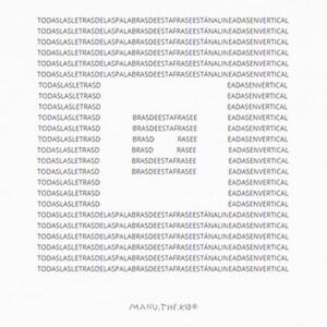 Camisetas Poema DADA nº7