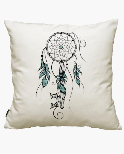 Poetic key of dreams cushion cover