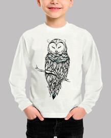 poetic snow owl