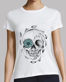 Poetic Wooden Skull