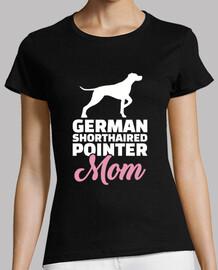 pointeur allemand à poil court maman
