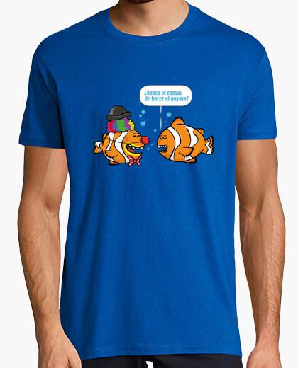 Tee-shirt poisson clown