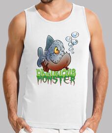 Poisson d'avril Delirious monster Piranha