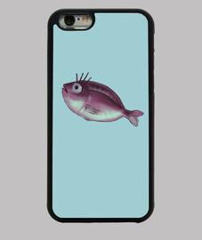 poisson drôle avec des cils fantaisie