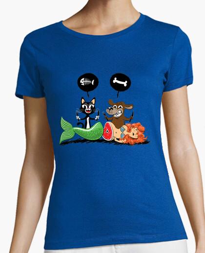 Tee-shirt Poisson ou viande ?