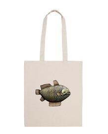 poissons! sac à main