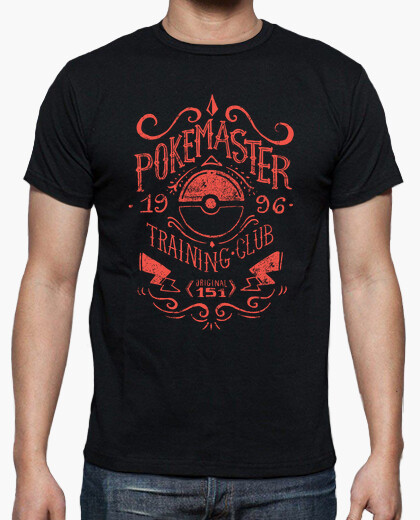 Camiseta Pokemaster Training Club