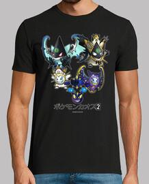Pokémon Caos 2 - Gastmog, Hauntmoen, Gengala, Gengaleo, U-Gengala y U-Gengaleo.