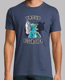 pokemon: orgulloso hombre bugcatcher