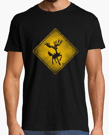 Pokémon warning t-shirt