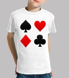 poker abiti camicia bambino
